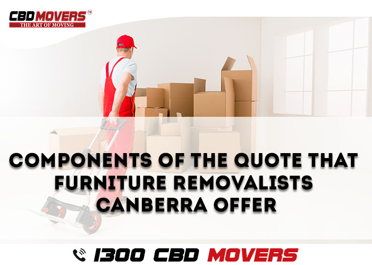furniture removalists in canberra