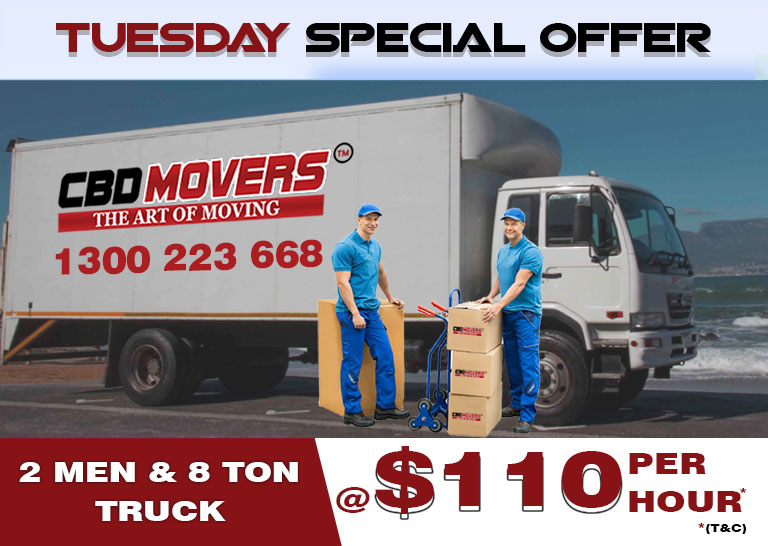 tuesday special offer on moving