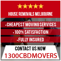 House Removals Melbourne