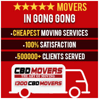 Furniture Removalists Gong-Gong