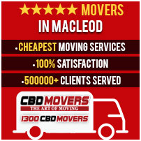 Movers in Macleod