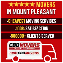 Movers in Mount Pleasant