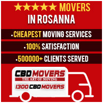Movers in Rosanna