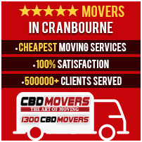 Moving Services Cranbourne East, West, South, North