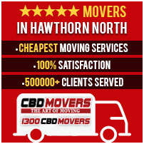 Removals Hawthorn North, West