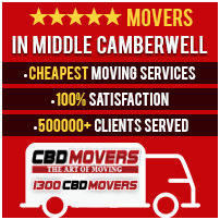 Removalists Middle Camberwell