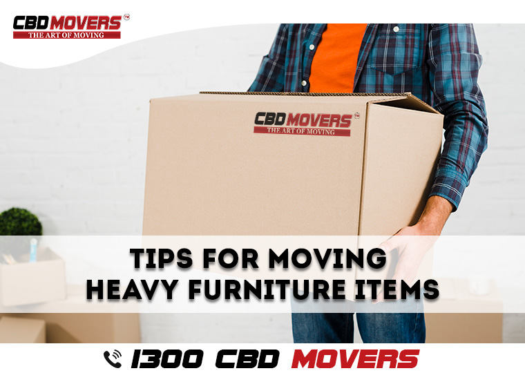 Moving Heavy Furniture Items