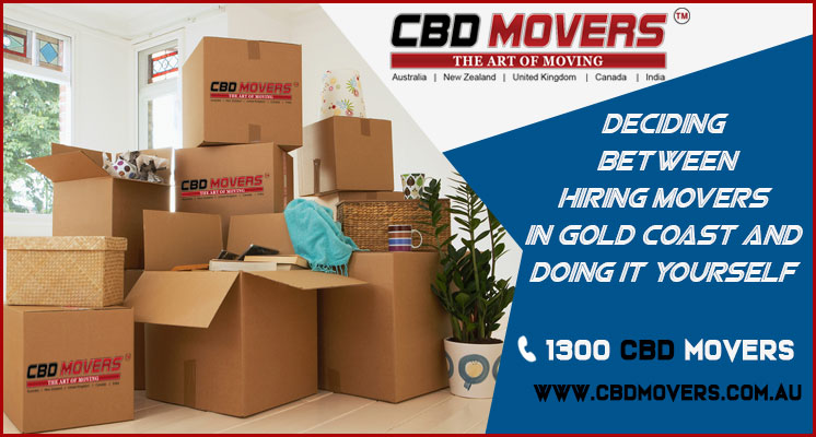 Hiring Movers in Gold Coast