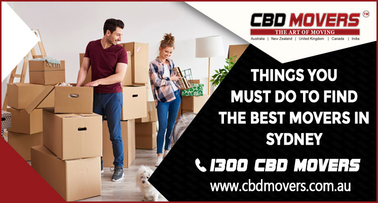 furniture removalists in Sydney