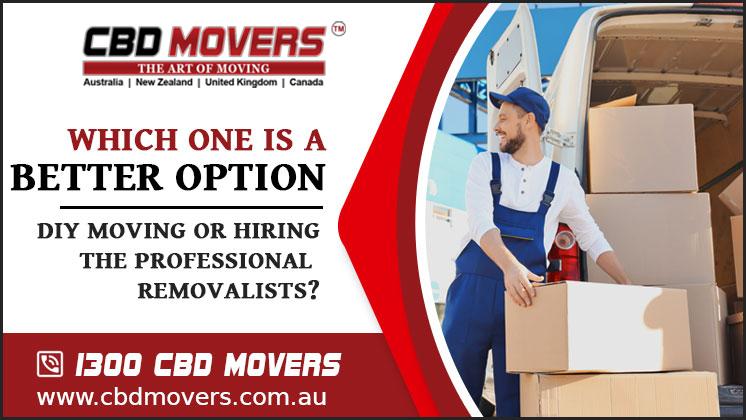 Furniture Removalists- CBD Movers