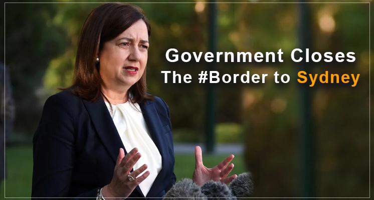 closes the border to Sydney