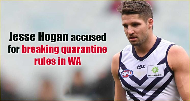 Jesse Hogan accused for breaking quarantine rules in WA