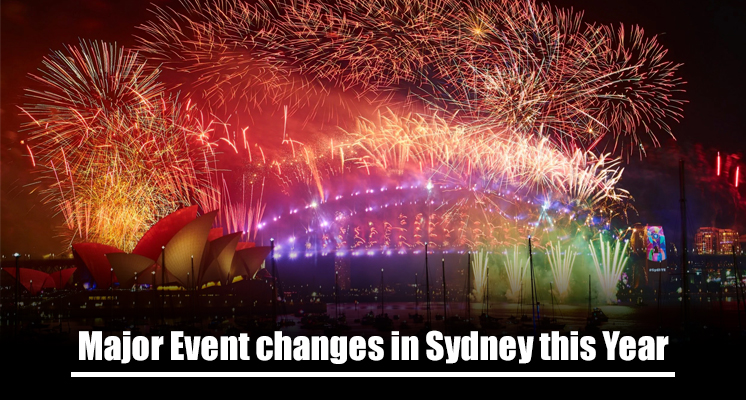 Major Events for this year might undergo a few changes in Sydney