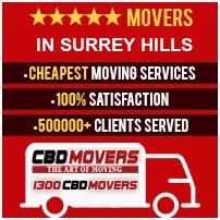 Movers Surrey Hills