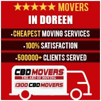 removalists Doreen