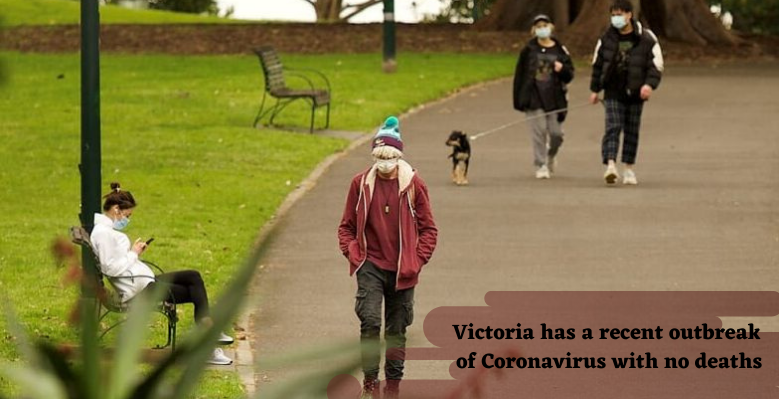 Victoria has a recent outbreak of coronavirus with no deaths