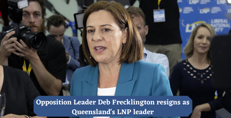 Deb Frickington has stepped down as the leader of the National Liberal Party