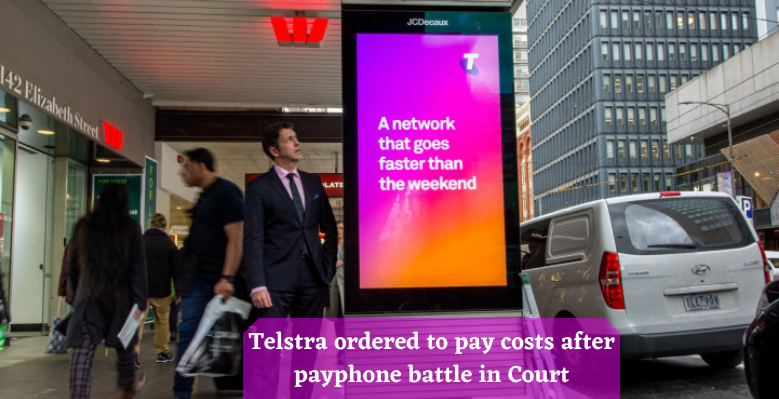 Telstra ordered to pay costs after payphone battle in Court