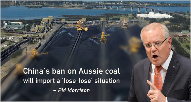 China's ban on Aussie coal will import a 'lose-lose' situation – PM Morrison