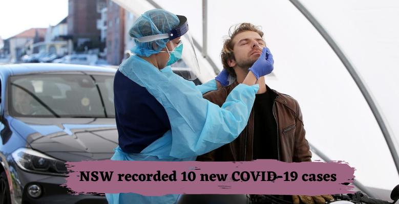 NSW recorded 10 new corona cases