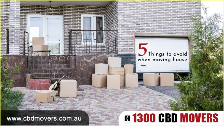 Things To Avoid When Moving House Movers Canberra