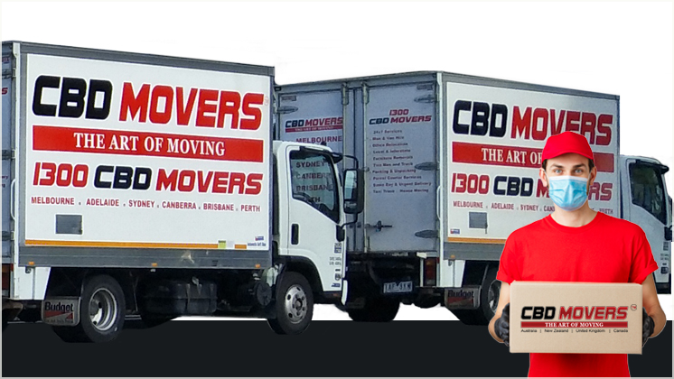 CBD Movers truck