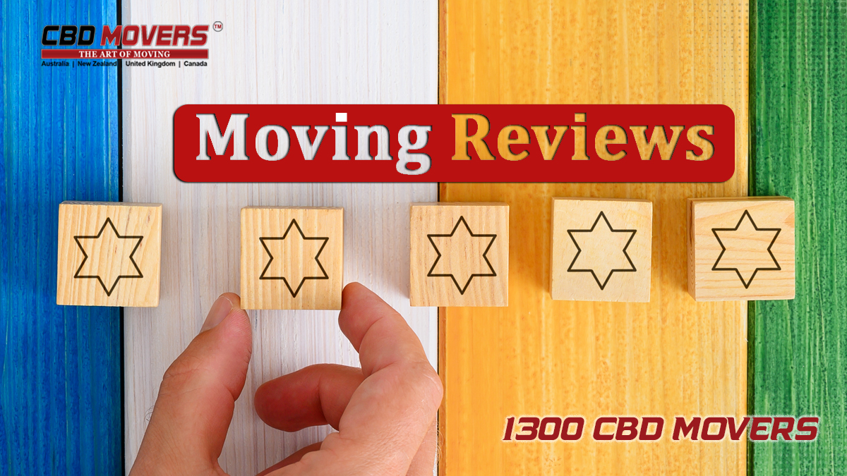 CBD Movers Reviews Canberra