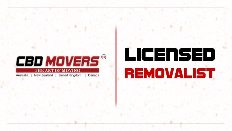 Licensed removalist in Australia